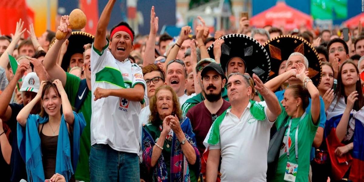"""Un mexicano detiene pelea durante el mundial de fútbol Rusia 2018 y viraliza la palabra """"Tranquilosky"""""""