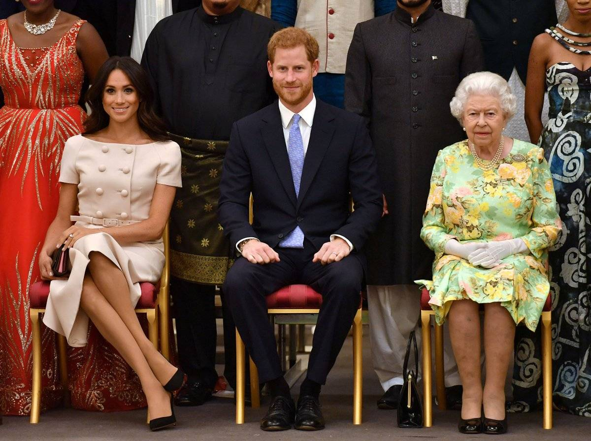 Meghan Markle, Harry e rainha
