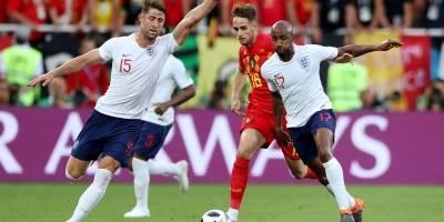 Inglaterra x Tunísia