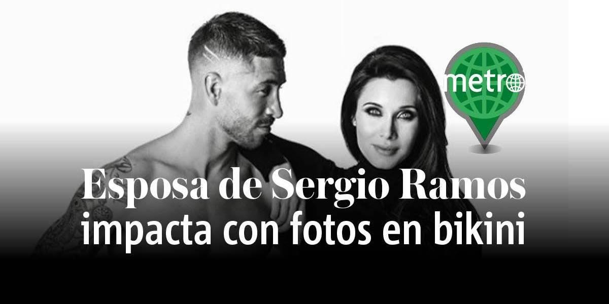 Esposa de Sergio Ramos sorprende con su figura tras tres meses de tener a su hijo