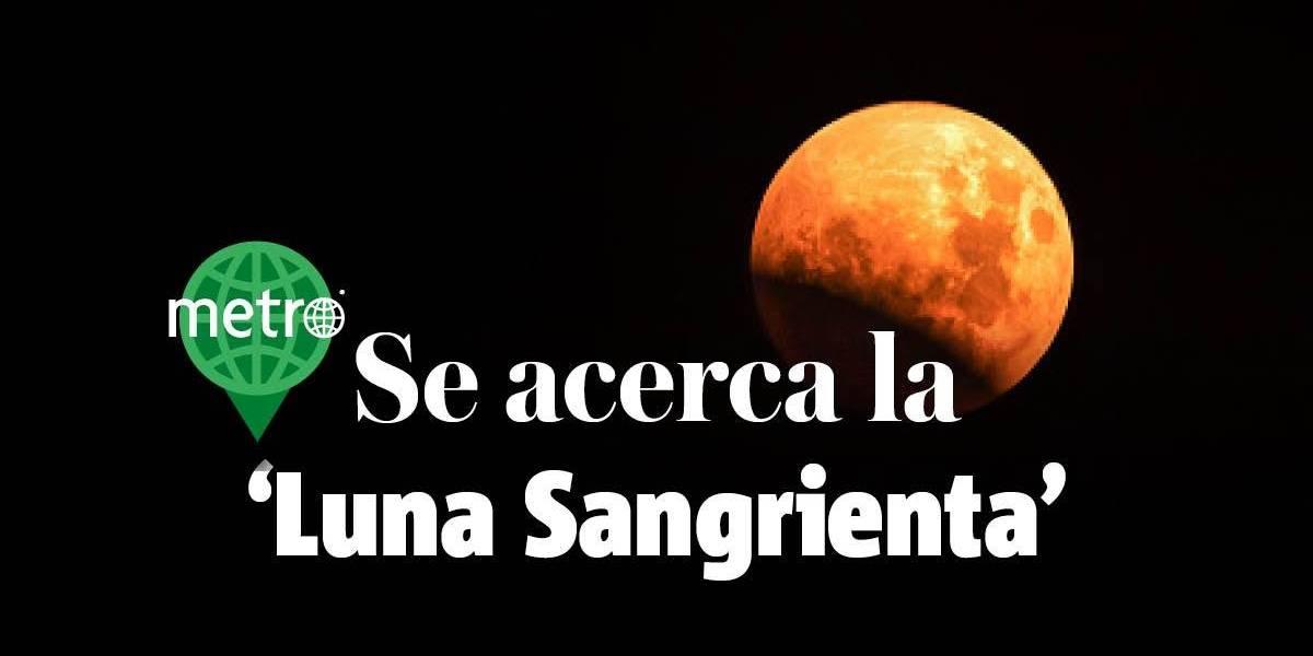 'Luna sangrienta', el eclipse lunar más largo del siglo XXI