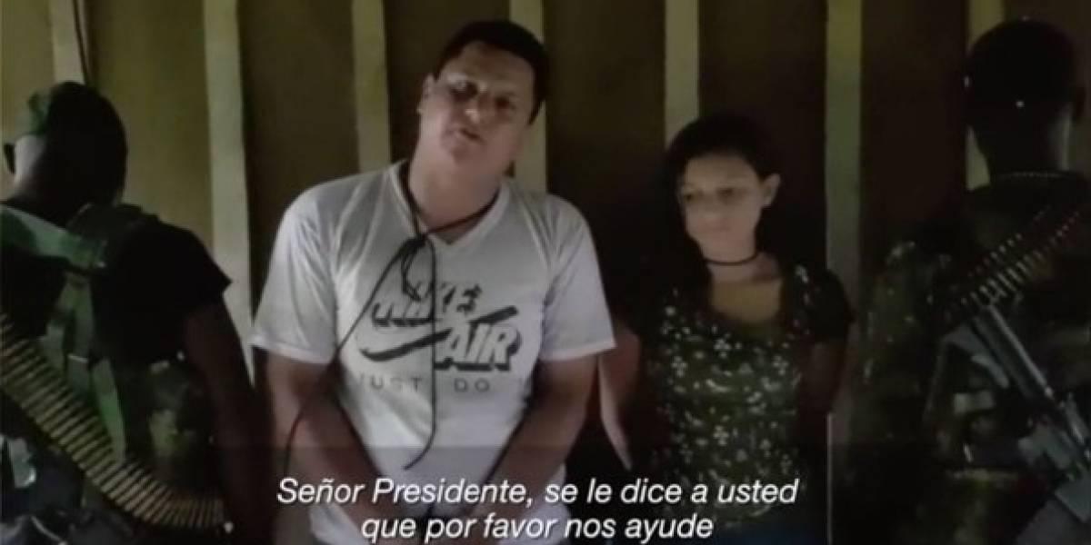 Familiares de la pareja secuestrada, Óscar y Kathy, desmienten nuevo video que circula en redes