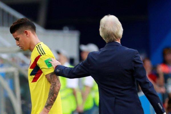 Por qué salió James Rodríguez vs Senegal