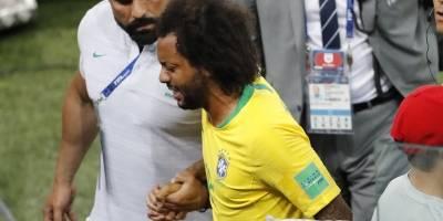 ¿Marcelo jugará ante México los octavos de final del Mundial Rusia 2018?