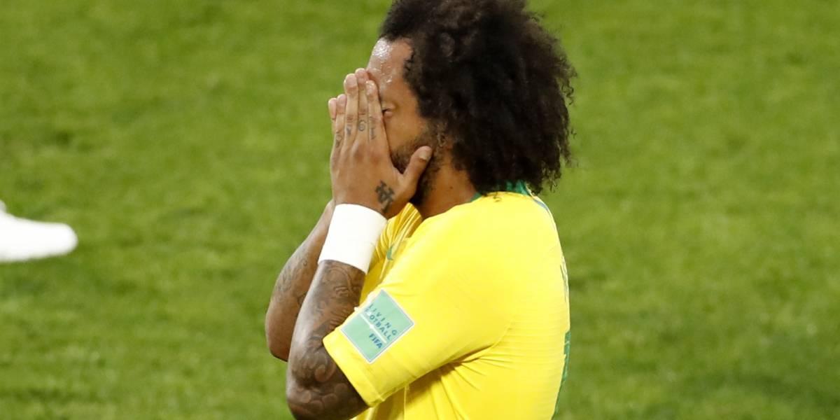 La insólita causa de la lesión de Marcelo y es duda contra México