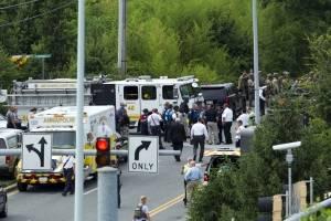 Primeras imágenes del tiroteo en la redacción del Capital Gazette