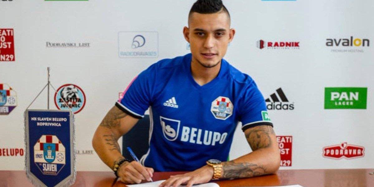 ¡Oficial! Jorge Aparicio firma su contrato con el Slaven Belupo del futbol croata