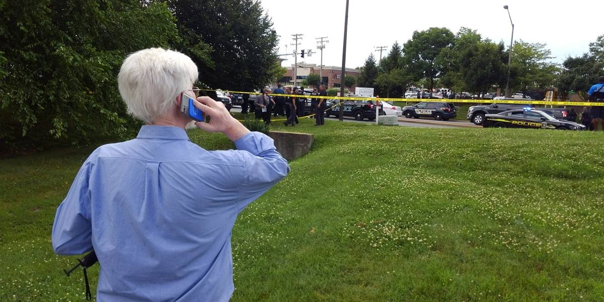 Atirador ataca redação de jornal em Maryland, nos Estados Unidos