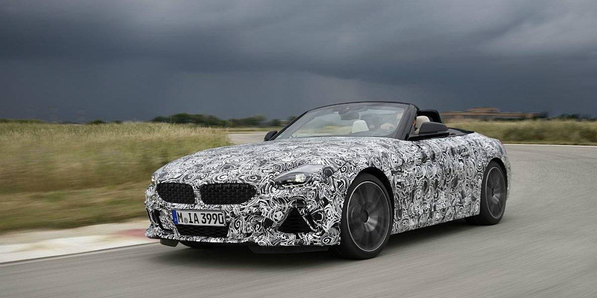 El BMW Z4 tiene luz verde para sus pruebas