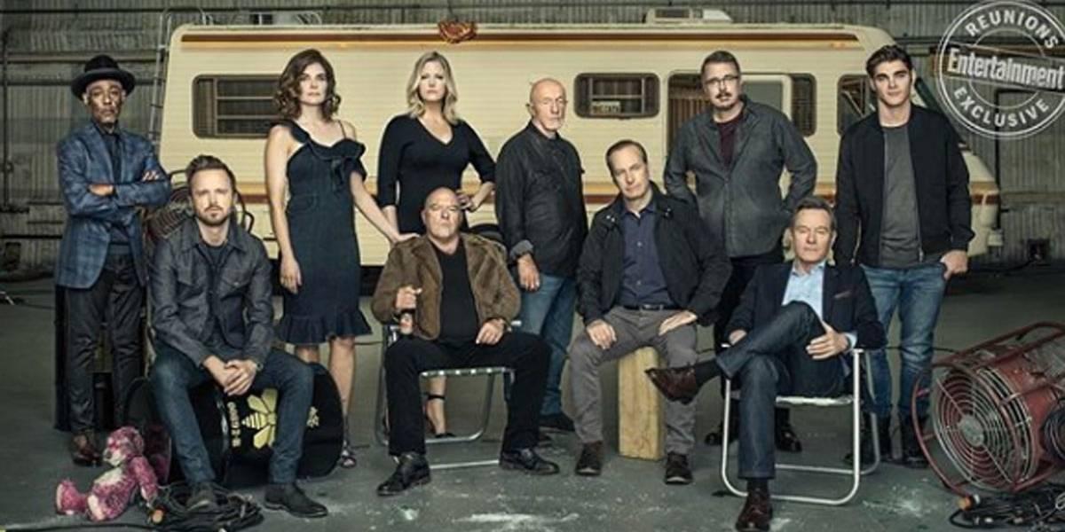 Elenco de Breaking Bad se reúne após cinco anos do fim da série em ensaio para revista; veja fotos