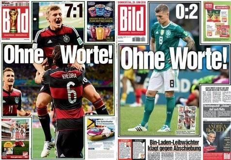 Capa jornal Alemanha