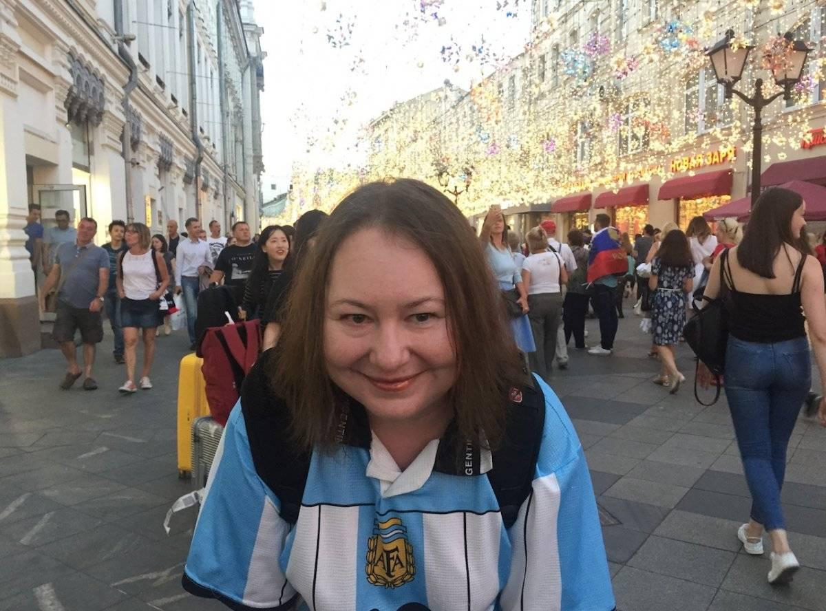 Fan rusa