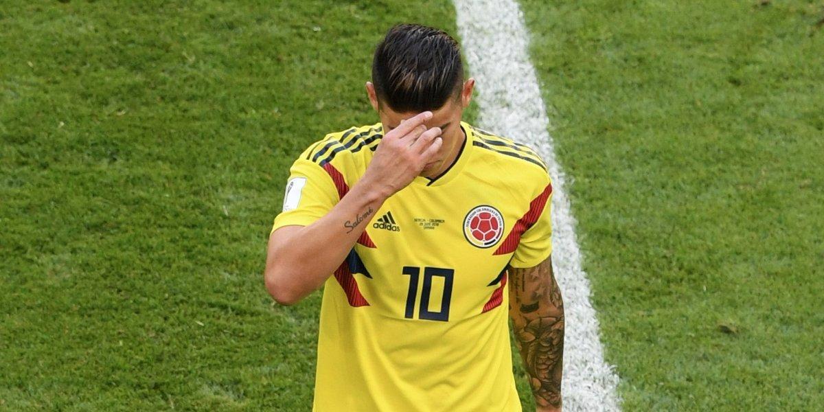 James Rodríguez entregó la primera noticia sobre su delicada lesión