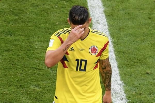 James Rodríguez se recuperará en Medellín de su lesión