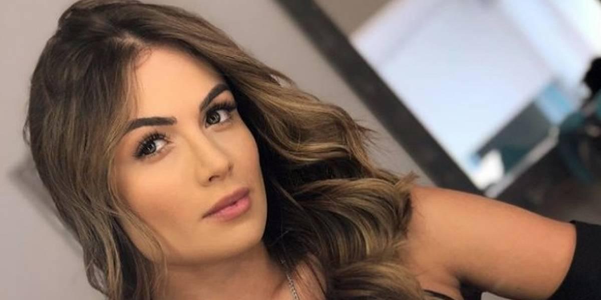 ¿Sara Uribe se hizo un 'arreglito' en su cara y su novio fue el que la reveló?