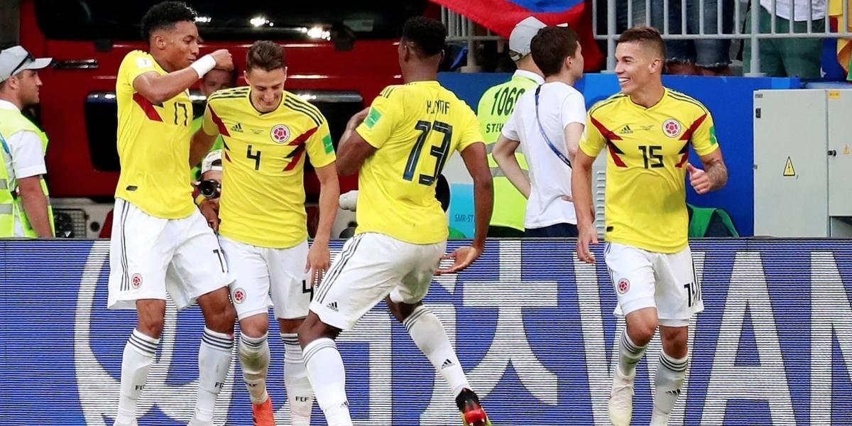 ¡Triunfo de altura! Yerry Mina clasificó a Colombia y puso a bailar a todo el país (1-0)