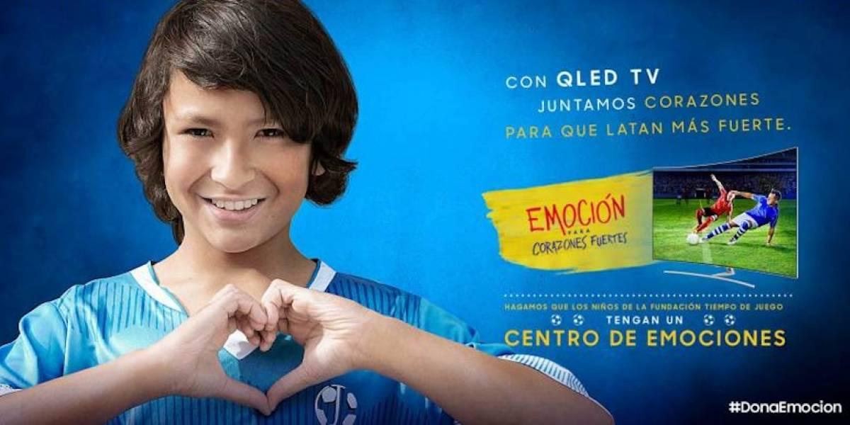 La meta que logró Samsung y que enterneció a los colombianos