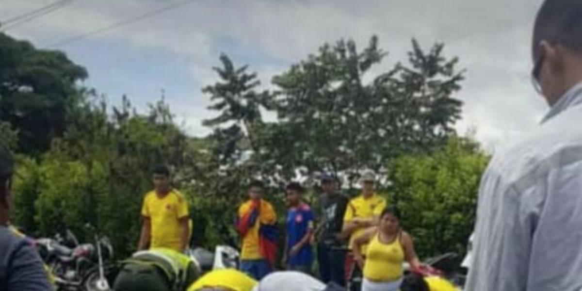 Dos muertos en caravana de celebración por la victoria de la Selección
