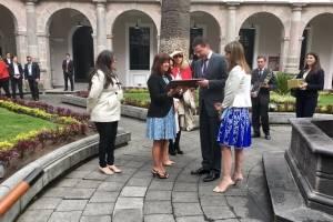 Karen Pence, esposa del vicepresidente de EE.UU. mantuvo encuentro con Mauricio Rodas