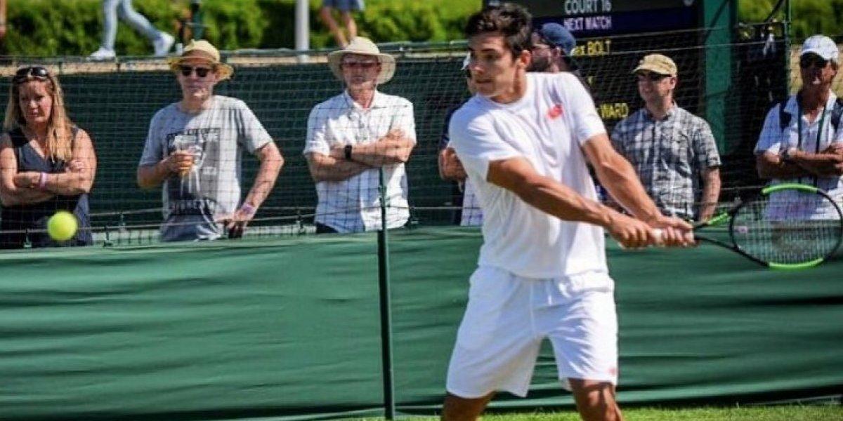 Un brillante Christian Garín clasifica por segundo año seguido a Wimbledon