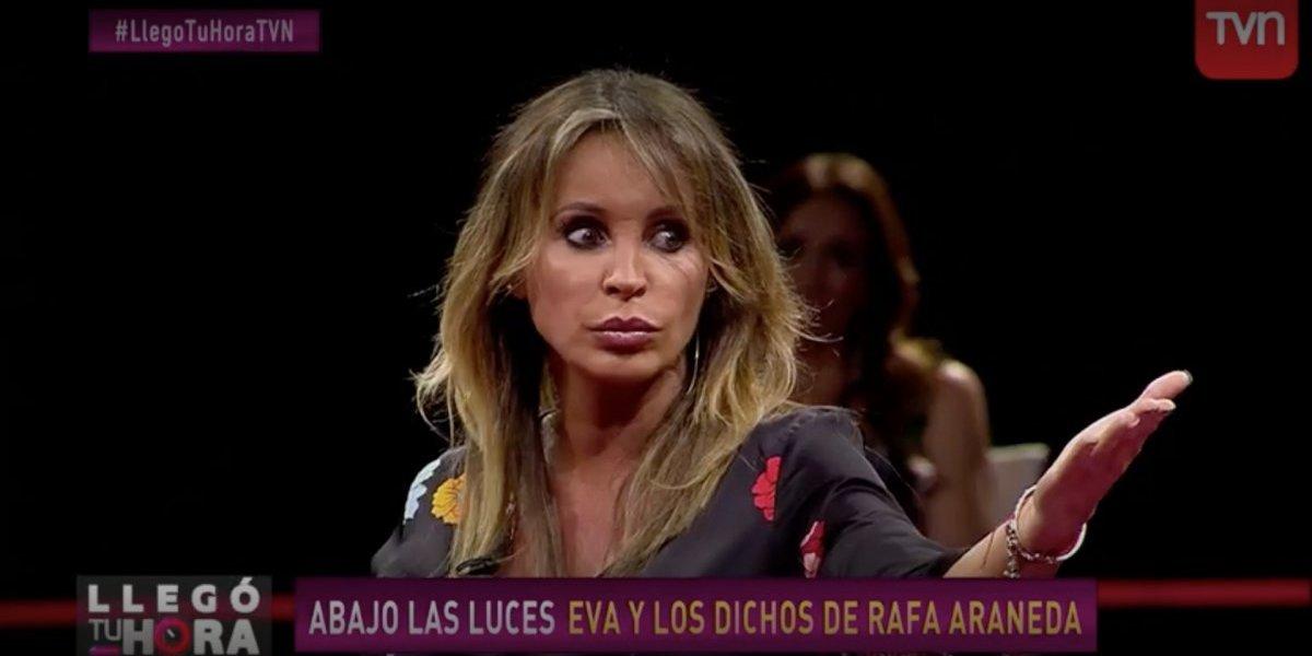Eva Gómez aclara la polémica entre Rafael Araneda y Américo en Festival de Viña 2011