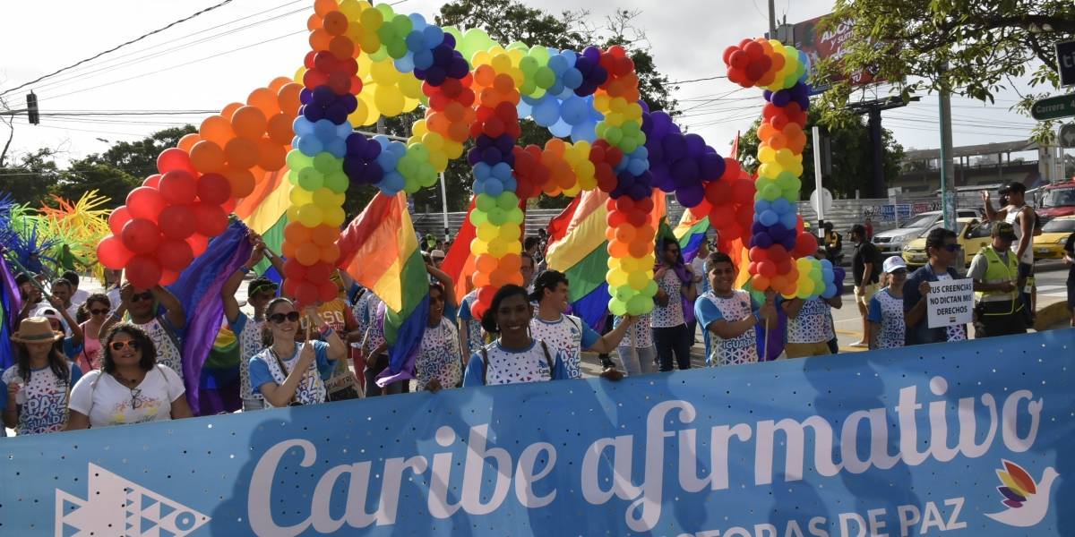 Barranquilla se prepara para marcha por el orgullo LGBTI este domingo