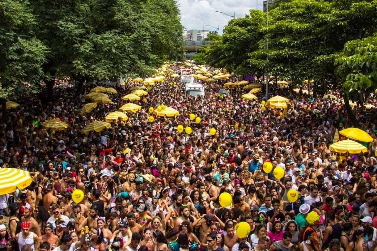 10ea0190c Berrini vai receber desfile de blocos de carnaval em São Paulo | Metro  Jornal
