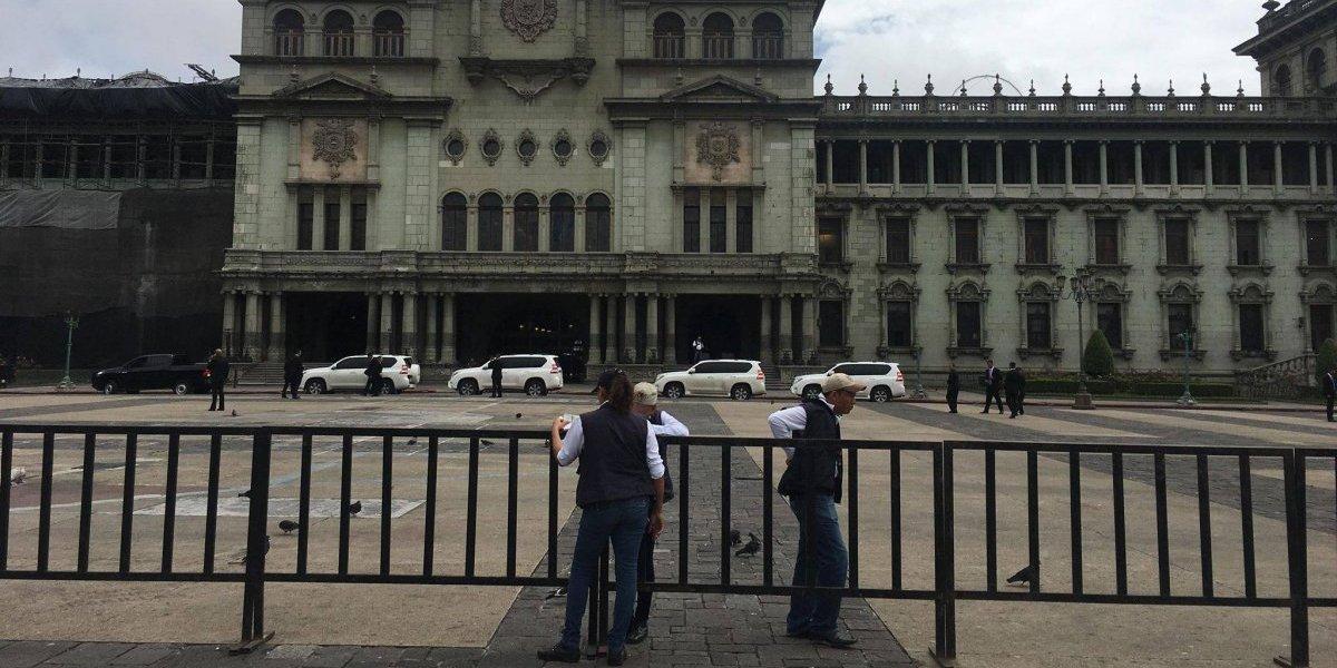 Realizan cierres vehiculares por visita de gobernantes de EE. UU., Honduras y El Salvador