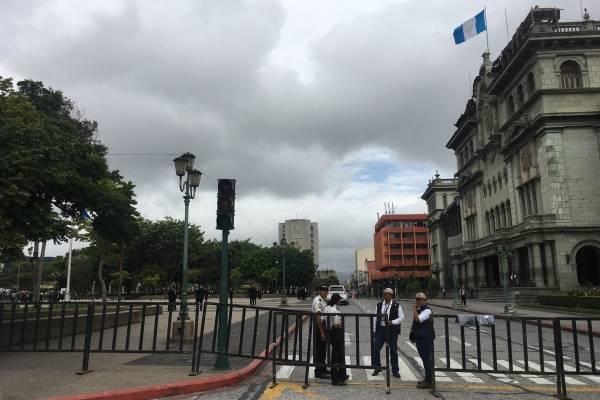Seguridad por visita del vicepresidente Mike Pence a Guatemala.