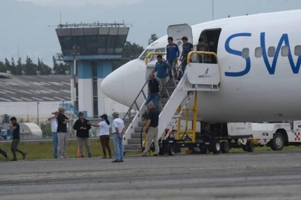 Guatemaltecos deportados