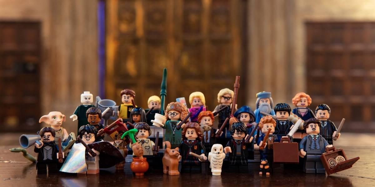 LEGO anuncia novos bonecos inspirados em Harry Potter e Animais Fantásticos