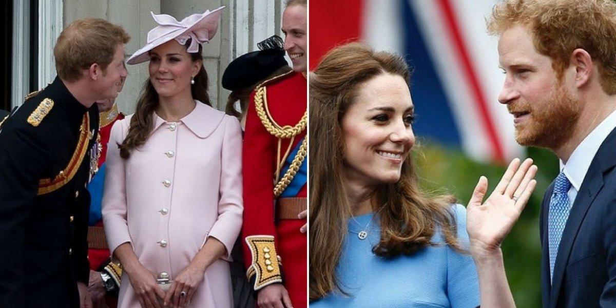 A verdadeira relação entre Kate Middleton e seu cunhado príncipe Harry