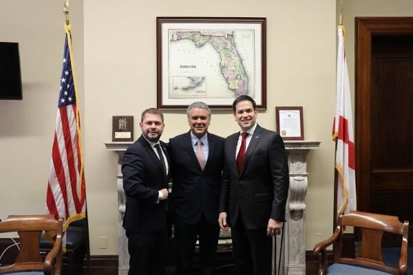Duque y senador Rubio