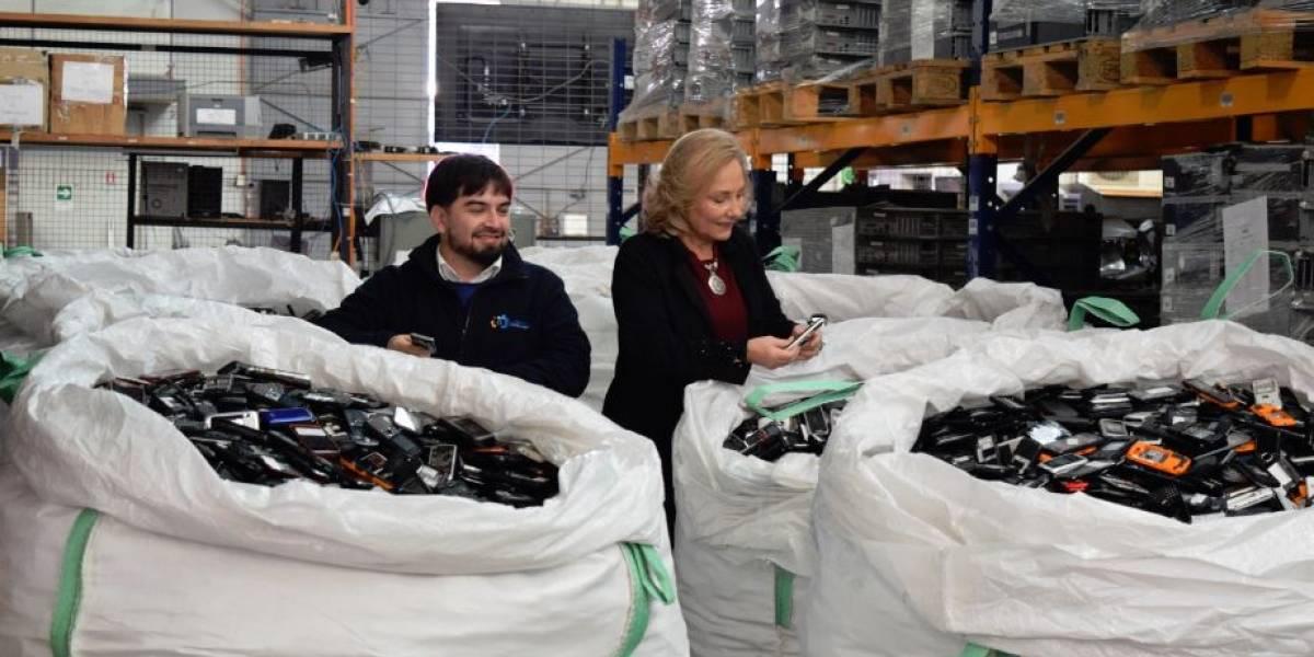 Chilenter enviará 11 toneladas de residuos electrónicos a Japón