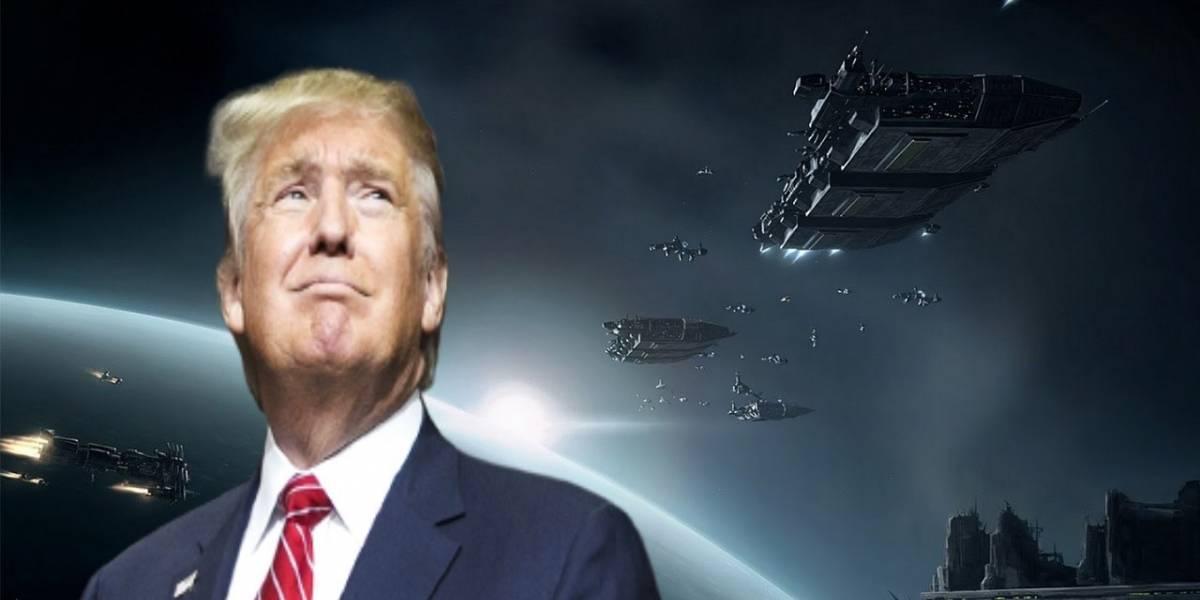 Los delirios de Trump llegan a la NASA: administrador apoya la creación de la Fuerza Espacial