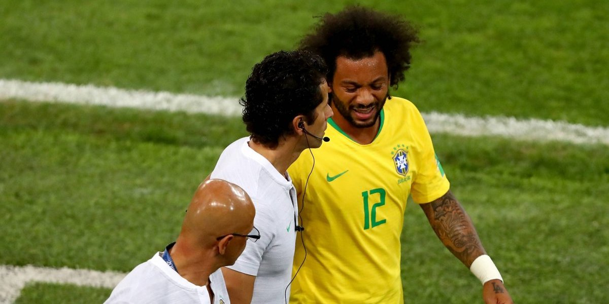 Insólito: en Brasil aseguran que Marcelo se resintió la espalda por culpa de un colchón del hotel