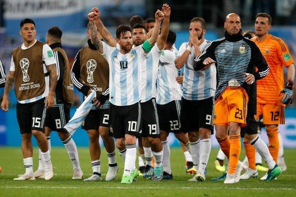 Argentina quiere seguir celebrando / imagen: Getty Images