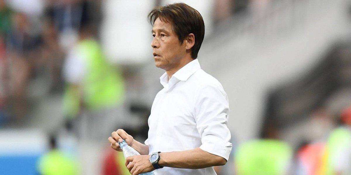 """El DT de Japón ni se arrugó para reconocer que hicieron tiempo: """"Confié en el otro partido"""""""