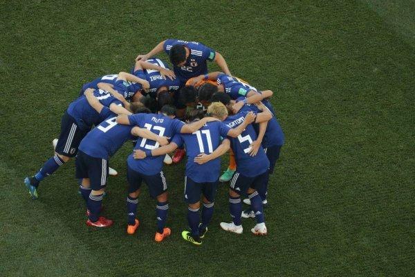 """Japón celebró por el """"juego limpio"""" / imagen: Getty Images"""