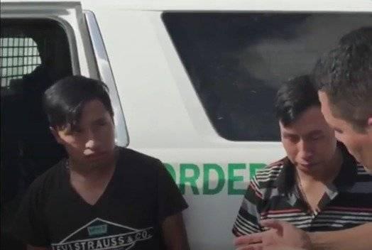 hermanos guatemaltecos sobrevivientes de erupción del volcán interceptados en frontera de Estados Unidos