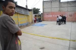 hombre fallecido tras ataque armado en Tierra Nueva, Chinautla