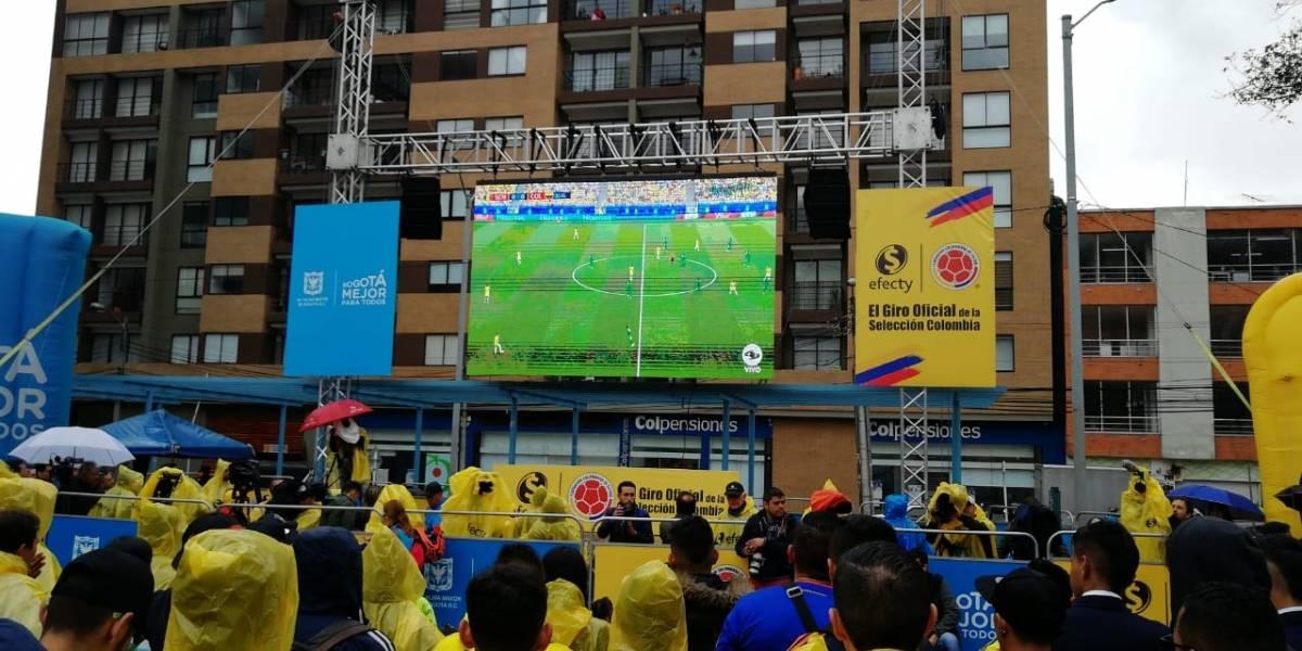 Este fue el rating del partido de la Selección Colombia contra Inglaterra