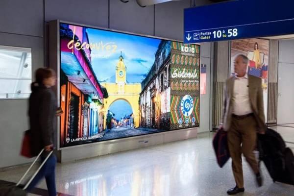 Campaña publicitaria turistica internacional de Inguat