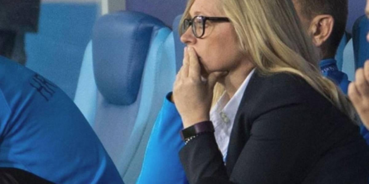 Ella es la primera mujer en la historia en ser jefa de equipo de una selección en un Mundial de futbol