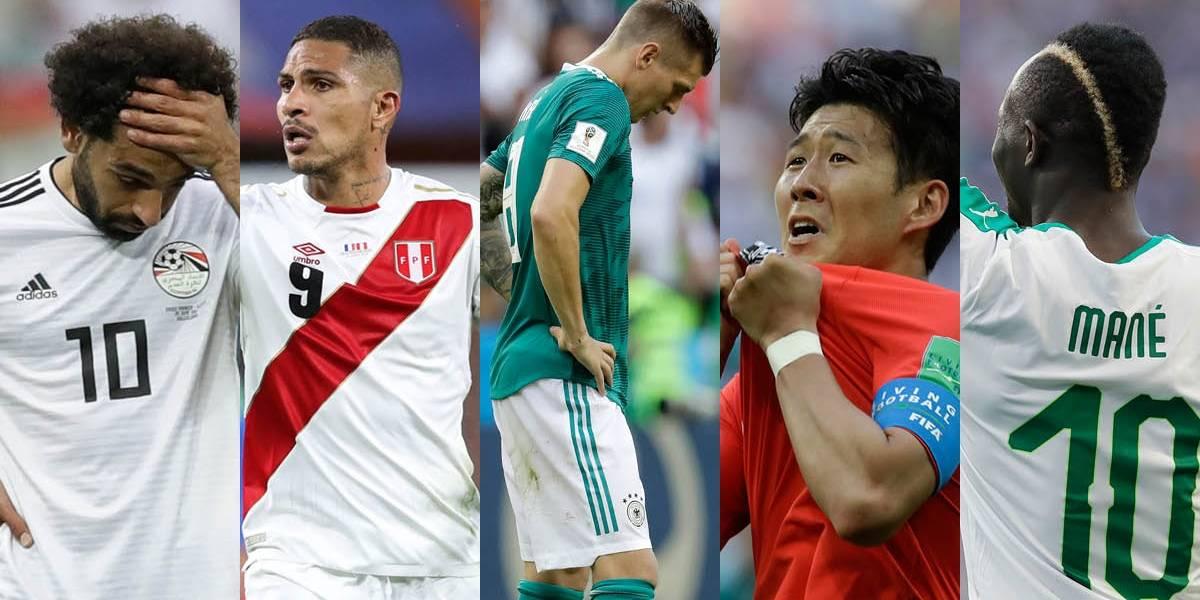Los cinco jugadores que más se extrañarán en los octavos de final del Mundial Rusia 2018