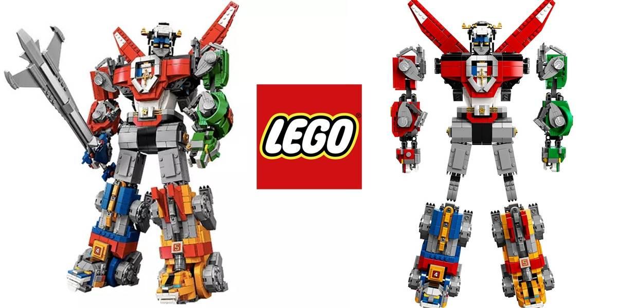 LEGO muestra su set de Voltron con más de 2 mil piezas
