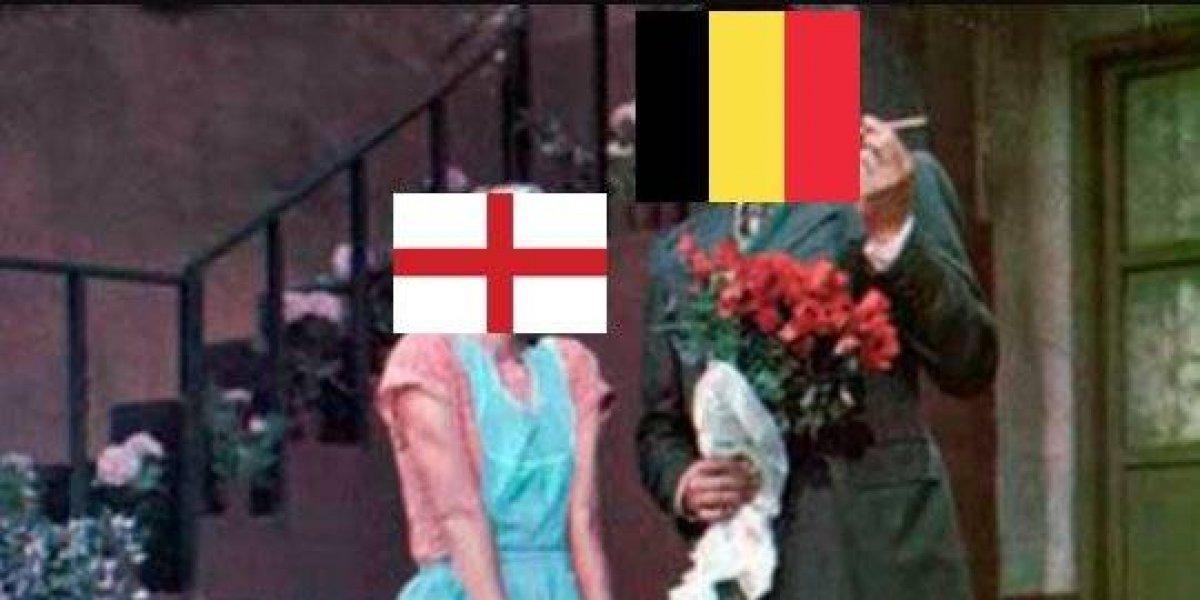 Usuarios se divierte con el Inglaterra vs. Bélgica, que ¿ambos querían perder?