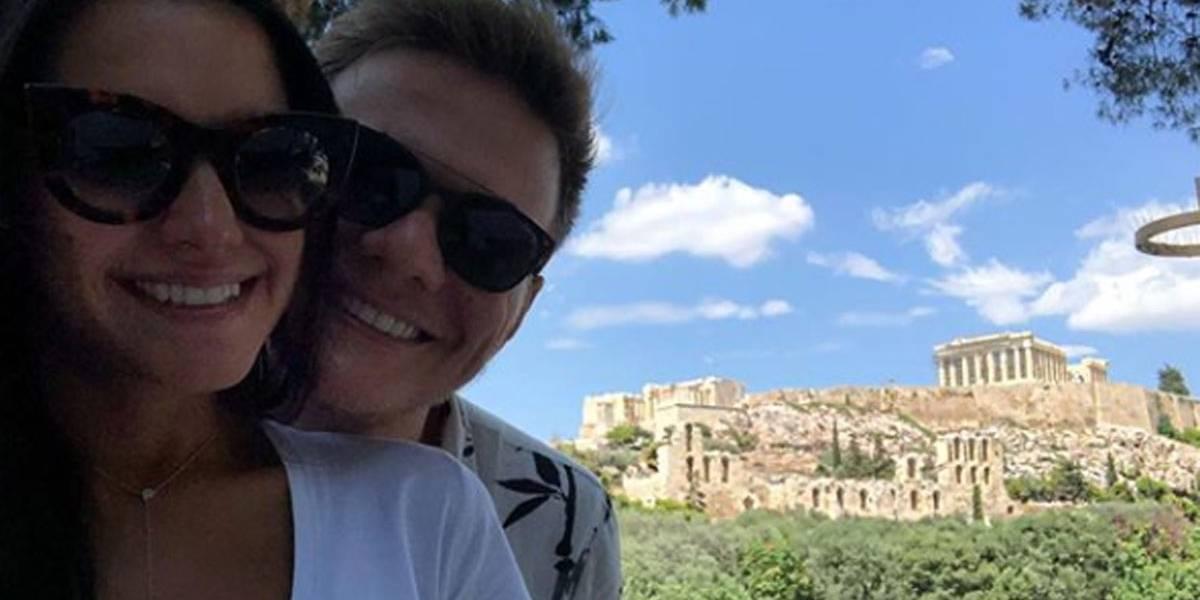 Michel Teló fala sobre férias com Thaís Fersoza na Grécia: 'quase encomendamos mais um filho'
