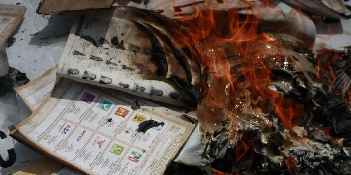 INE reimprime 23 mil boletas tras robos en tres estados