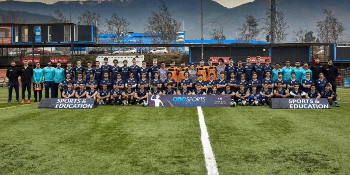 One Sports despidió a 24 chilenos que iniciarán sus estudios en Estados Unidos mientras se la juegan por su sueño deportivo